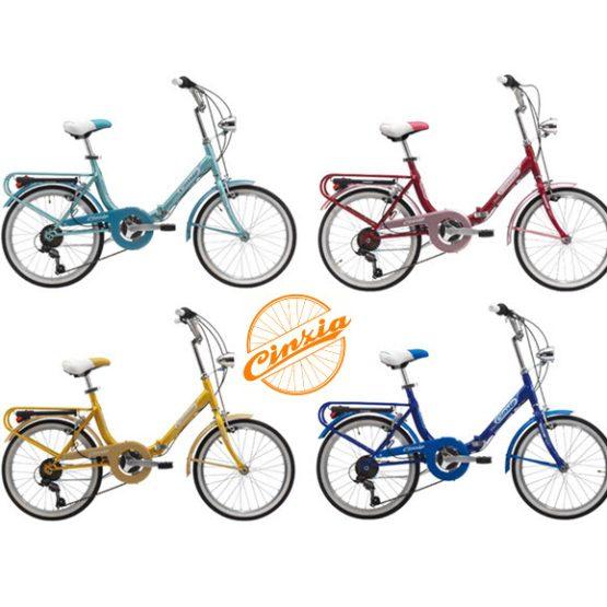 """Zložljiva kolesa 16"""" in 20″col znamke Cicli Cinzia Italija"""
