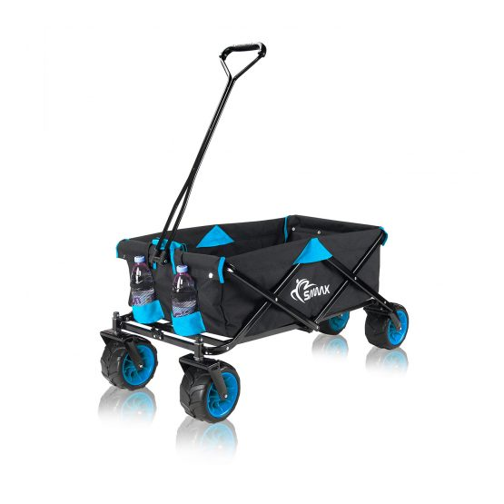 Ročni transportni zložljivi voziček različnih barvah