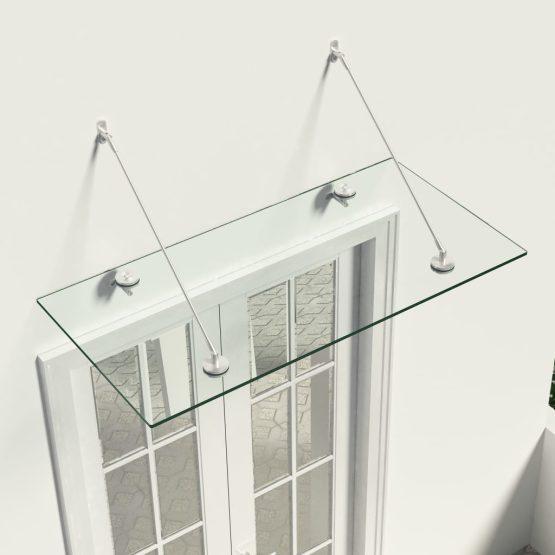 Stekleni nadstreški za vhodna vrata